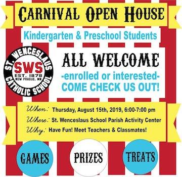 Pre K and Kindergarten Carnival!
