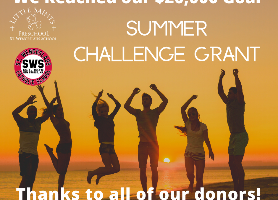 Summer Challenge Grant 2020 Success!